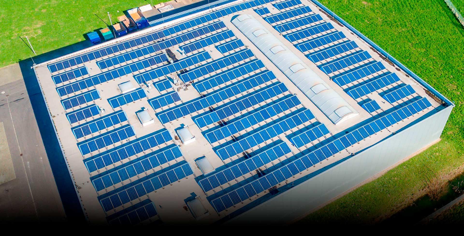 Instal·lacions Fotovoltaiques d' Autoconsum Industrial