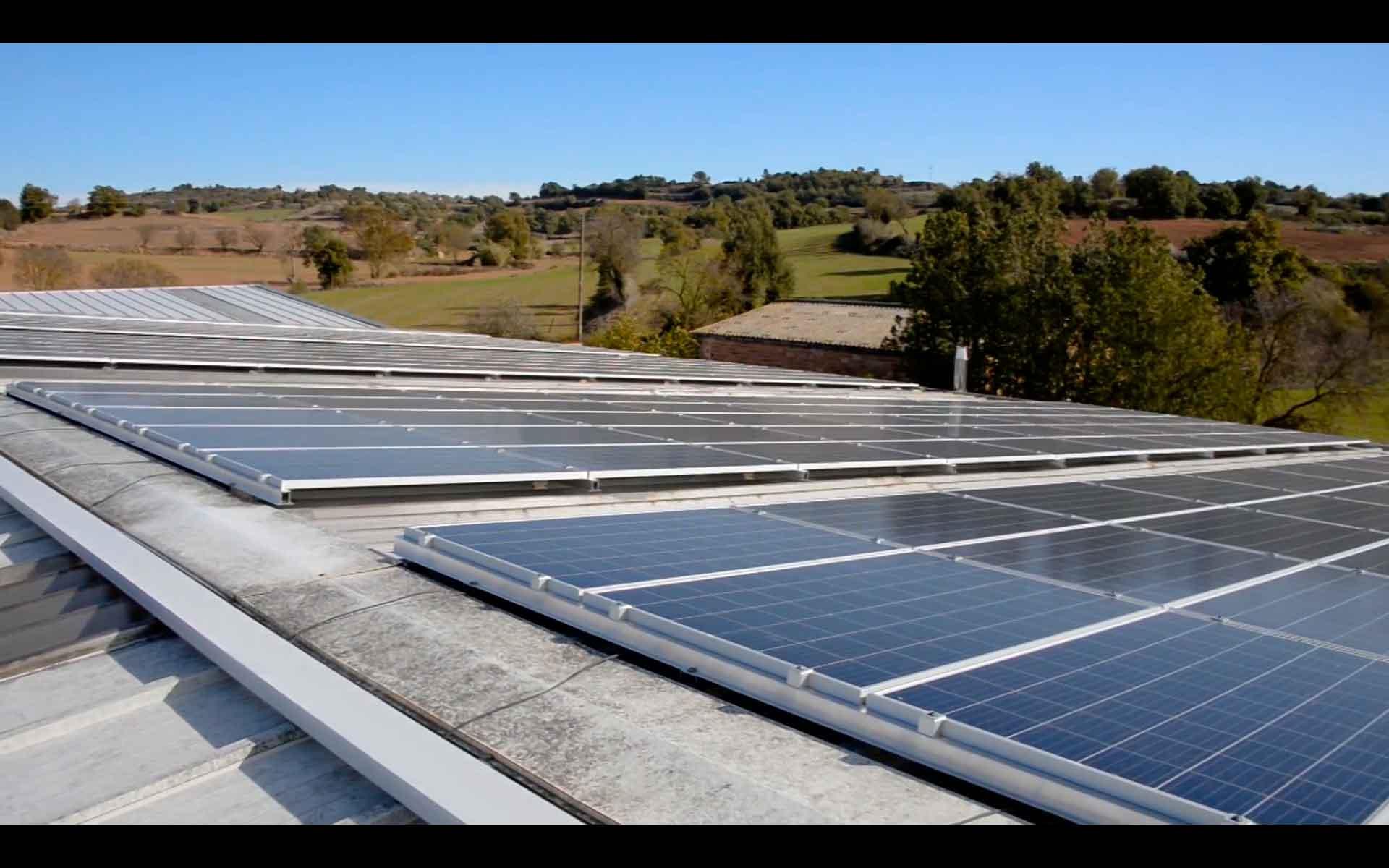 Instalación de Energía Solar Fotovoltaica Industrial