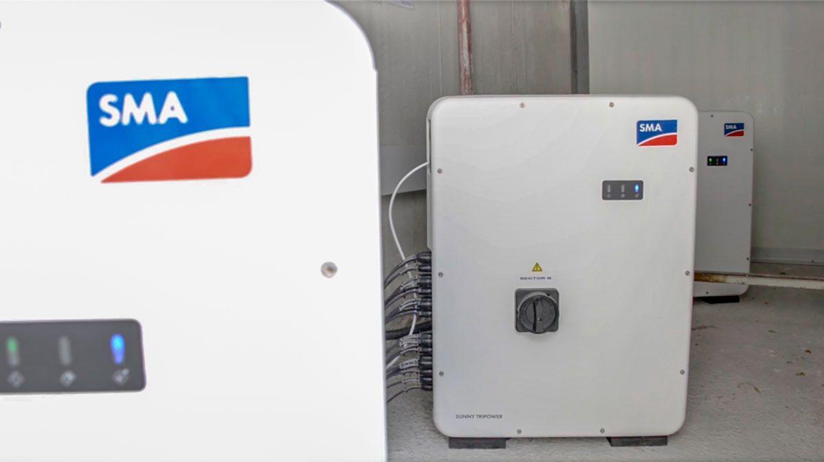 3 Inversores de 50 kW