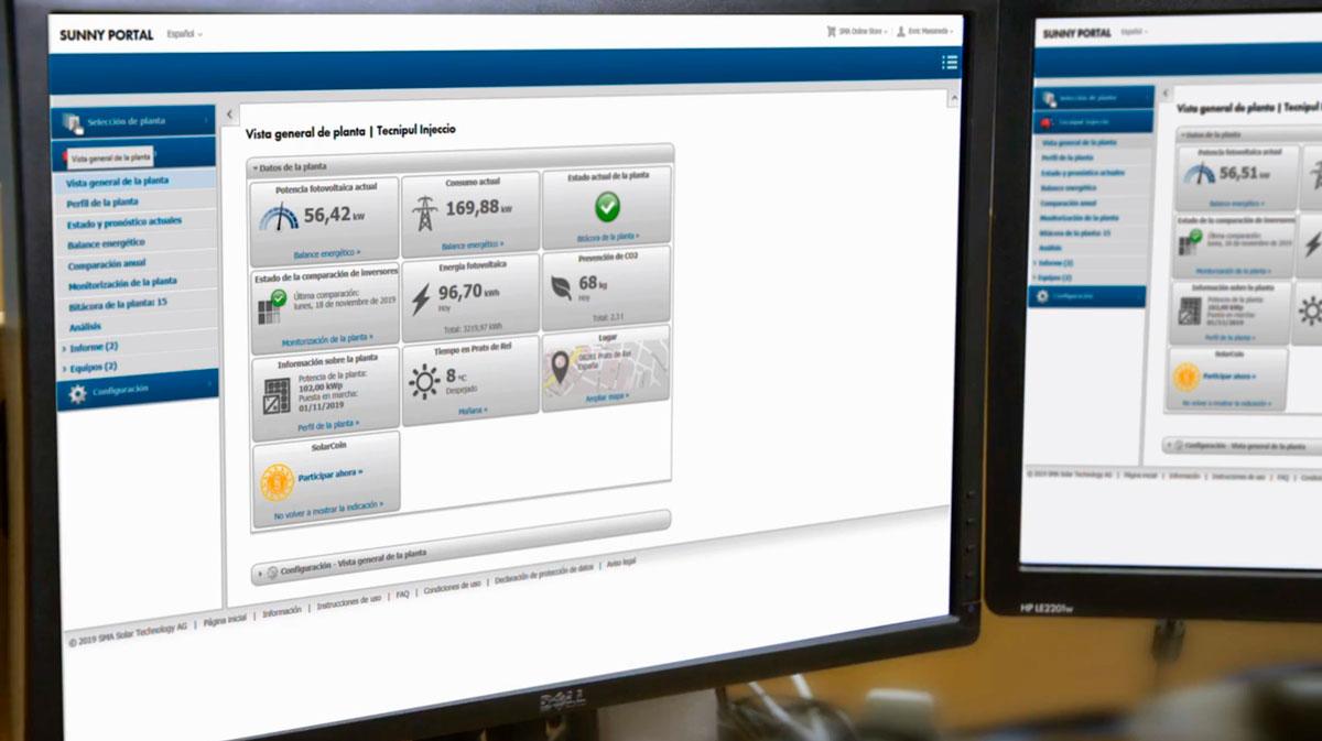 Plataforma de monitorització