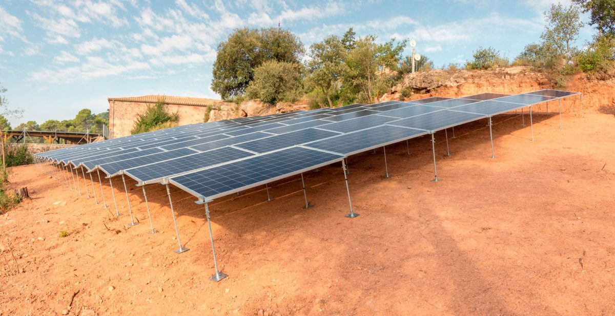 Camp Solar de 55kW per Autoconsum