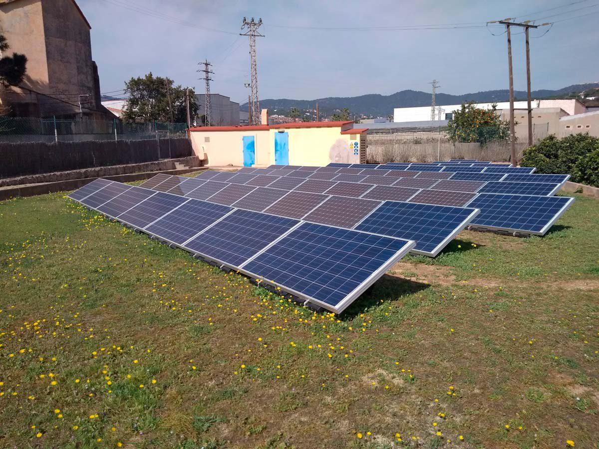 Campo fotovoltaico (módulos fotovoltaicos nuevos y existentes)