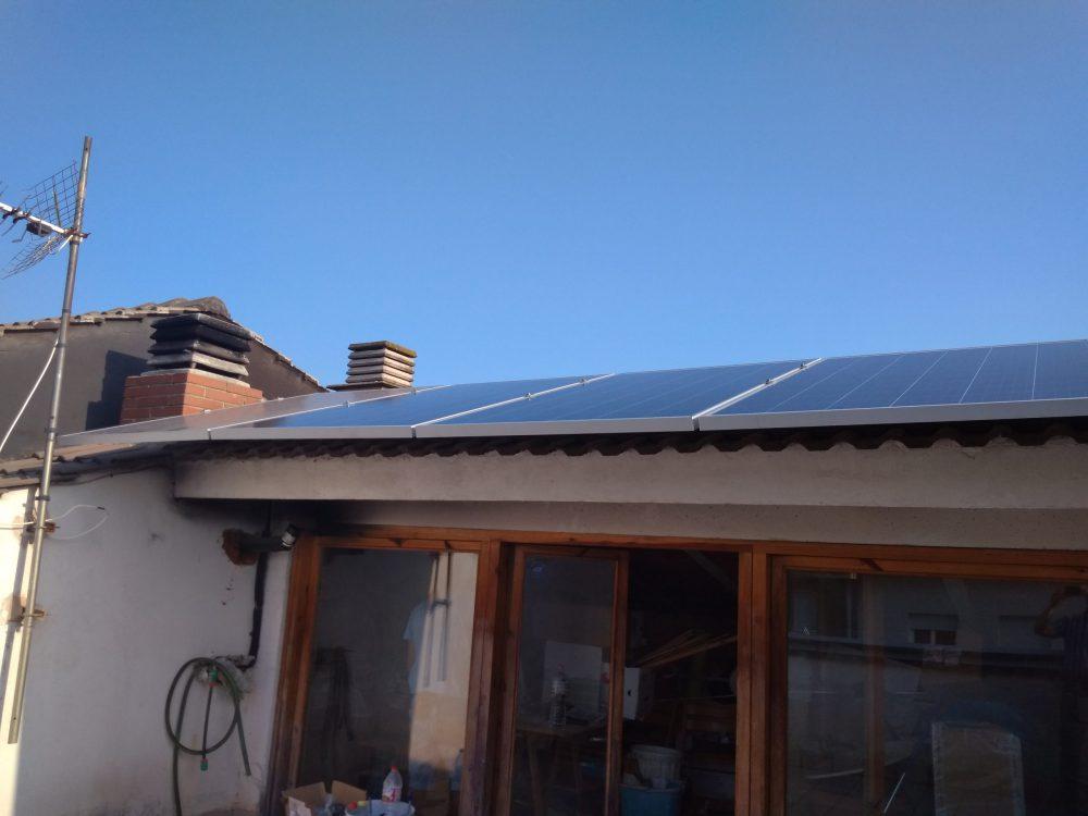 Autoconsumo doméstico de 3'5 kW en Sant Joan de Vilatorrada