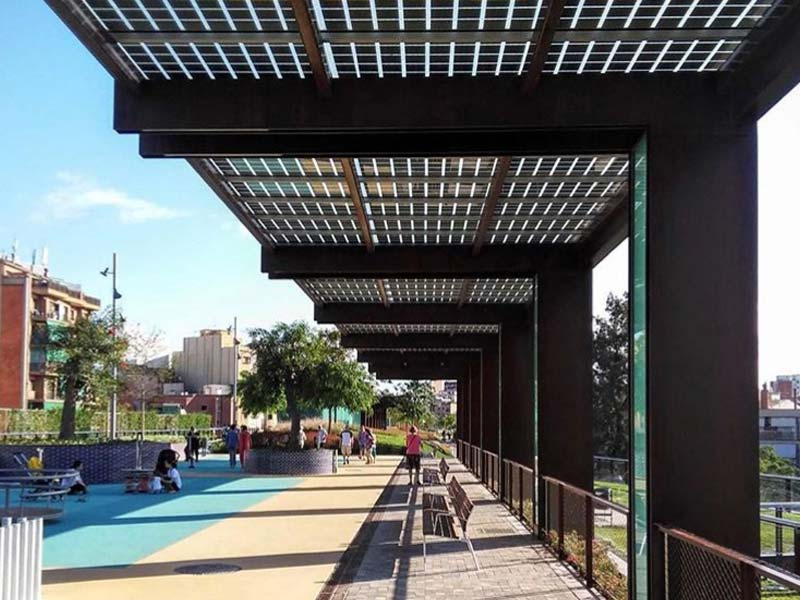 Fotovoltaica en Pérgolas y Terrazas