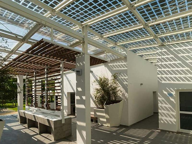 Fotovoltaica a Pèrgoles i Terrasses