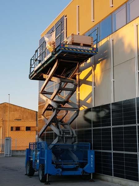 Instal·lació de 34,76 kWp fotovoltaics