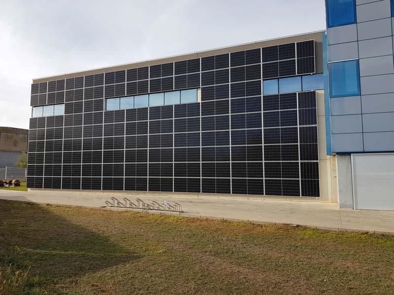 Instal·lació fotovoltaica a Sabemsa