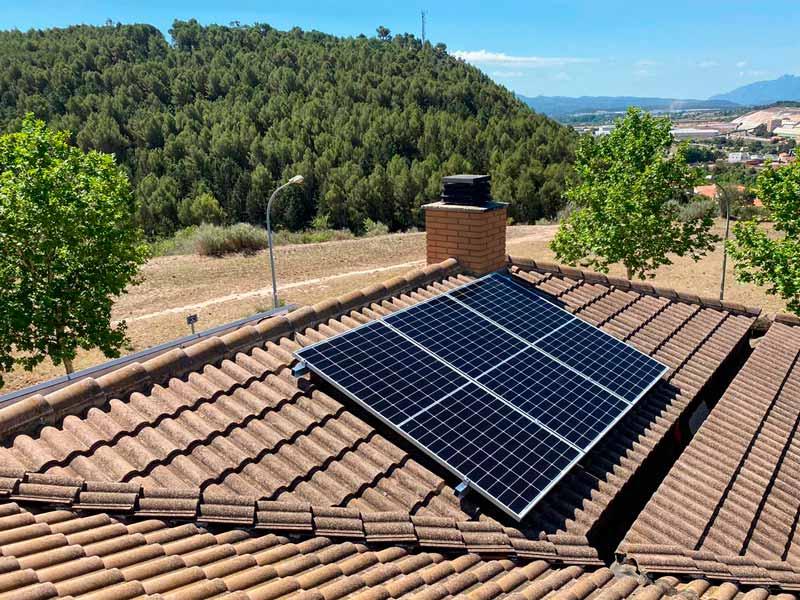 Autoconsum Fotovoltaic a Sallent de 3'56 kWp